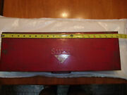 Vintage 1940s 29 Pc Snap On Tool Box With 1/2 Drive Sw Series Sockets. Complete