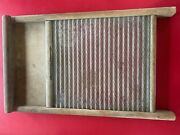 Vintage Wash Board From Columbus Washboard Co. Standard Family Size