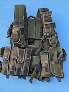 Serbia Military Army M03 Woodland Panther Climbing Vest
