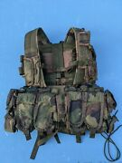 Serbia Military Army M03 Woodland M70 Panther Climbing Vest