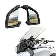 Black Motorcycle Rear View Side Mirrors For Bmw R1200rt R1200 Rt 2005-2012 Usa