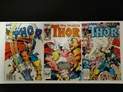 Thor 337 338 And 339 Nm. 1st Beta Ray Bill And Stormbreaker. Newstand.