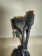 Dynex 6ft. Hd Dvi To Hdmi Digital Video Cable