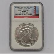Ms69 2011 American Eagle Silver Silver Coins 1 Ngc