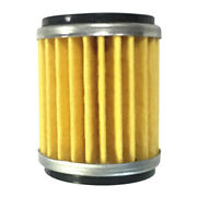 1pc Motocycle Oil Filter Parts Fit For Yamaha Lc135 Fz150 Y15zr Fz15 Yellow