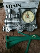 Train Clock Be And Gumby