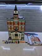 Lego 10224 Town Hall , Manual Modular City Building Creator And Architecture Set