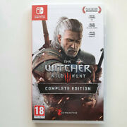 The Witcher 3 Wild Hunt Complete Edition No Box And Goodies Nintendo Switch Fr