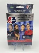1 2021 Official Nwsl Trading Cards Premier Edition Hanger Box Women's Soccer
