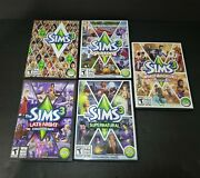 The Sims 3 Pc With 4 Expansion Packs Seasons Late Night Supernatural