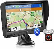 Gps Navigation For Car Truck With Bluetooth Lifetime Map Update 7 Inch Touchscre