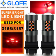 Cree 3157 3057 4057r 3157r Super Red Led Bulbs For Tail Brake Stop Lamps Glofe