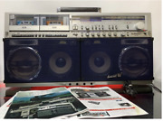 Sharp Gf-999 Stereo Boombox From Japan Used