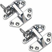 2 Pcs Heavy Duty Marine 316 Stainless Steel Hatch Hinge 3 X 2-3/4 For Boat Rv