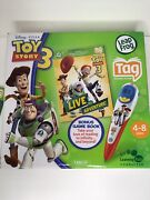 Toy Story 3 Special Edition Woody Buzz Jessie Leap Frog Tag Reader System Books