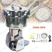 Large Electric Home Herb Grinder Coffee Beans Grain Milling Powder Machine 110v