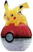 Beverly 61 Pieces Crystal Puzzle Pocket Monster Pikachu 3d Puzzle Japan New