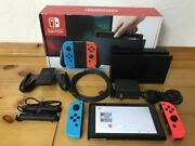 Same Day Moving Works Nintendo Switch Substance Joycon Neon Color Dock Set