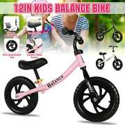 12and039and039 Kids Balance Bike For 2 3 4 5 6 Years Running Training Adjustable Bicycle