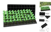 Thickened Seed Starter Tray- Plastic Gardening Germination 50 Cells 20 Pack