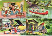 Walt Disney Collection Of 300 Cpa Mostly 1950-1965 Period L3762