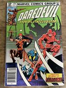 Daredevil 174 1981 Key 1st Appearance Of The Hand Newsstand Marvel Comics