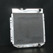 3 Row Fit Ford Mustang Comet Falcon V8 63-66 Aluminum Radiator 259b At/mt 62mm