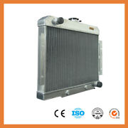 1919 Spawon Aluminum Radiator For Jeep Cj Series 70-85 Chevy V8 40mm 2row At