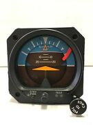 Mid-continent Electric Altitude Indicator P/n 4300-413 W/ Battery Yellow Tagged