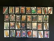 1974 Topps Wacky Packages 7th Series 7 Big Muc Complete Sticker Set 33/33 Ex+
