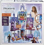 Disney Frozen 2 Ultimate Arendelle Castle Playset W/ Lights And Moving Balcony