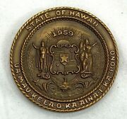 1959 Hawaii 50th State Commemorative Medal