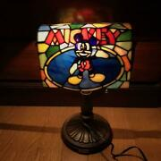 Disney Light Stained Glass Mickey Store Interior 70th Anniversary