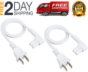 19.5in 2-pack Power Cord Compatible With Sonos Play One Sonos One Sl Speaker