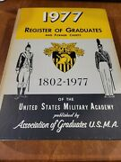 1966 Register Of Graduates West Point Academy Book 1890-1977