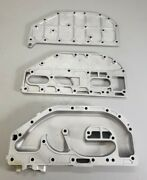 323691 Johnson Evinrude 1979-1988 Exhaust Manifold And Plate Cover 60 65 70 75 Hp