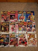 Vintage 1991 The Ring Full Year 12 Issues Boxing Magazinetysonforemanexc.