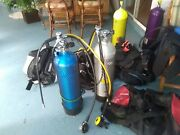 Andnbspscuba Bundle Mares Abyss Regulator. Bcd And Wet Suits And Tanks