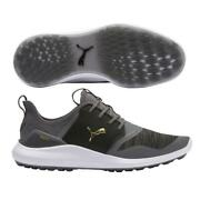 Ignite Nxt Lace Golf Shoes Quiet Shade-team Gold-black 192225 02
