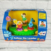 2000 Viacom Blues Clues Fisher Price Follow The Leader Toy New In Package