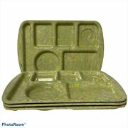 Prolon Ware Vintage Cafeteria Lunch Trays Set Of 4