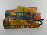 Technofix Tinplate Shooting Game Sport Trainer 1960s Vintage Game With Box D1