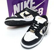 Men 8.0us 21ss Supreme Nike Sb Dunk Low Og Qs Esby Rho The Real Thing Dh3228-102
