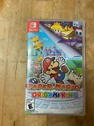 Paper Mario The Origami King Nintendo Sealed Brand New