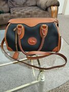 Dooney And Bourke Vintage All Weather Leather With Lock And Key