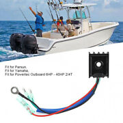 Mariner Outboard 4 Wire Voltage Regulator For Yamaha // Powertec Outboard