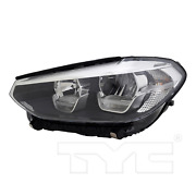 Led Low Beam Headlight Front Lamp Left Driver For 18-20 Bmw X3