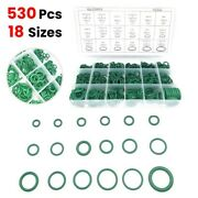 530x Universal Boxed Car A/c Air Conditioning Repair Rubber O-rings Seals Kit