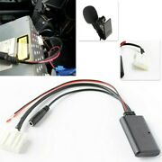 Car Aux Audio Cable Adapters Bluetooth 5.0 Mic For Mazda 3 5 6 Stereo Radio Kits