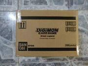 Digimon Card Game Great Legend Case 12 Booster Boxes With 24 Dash Packs